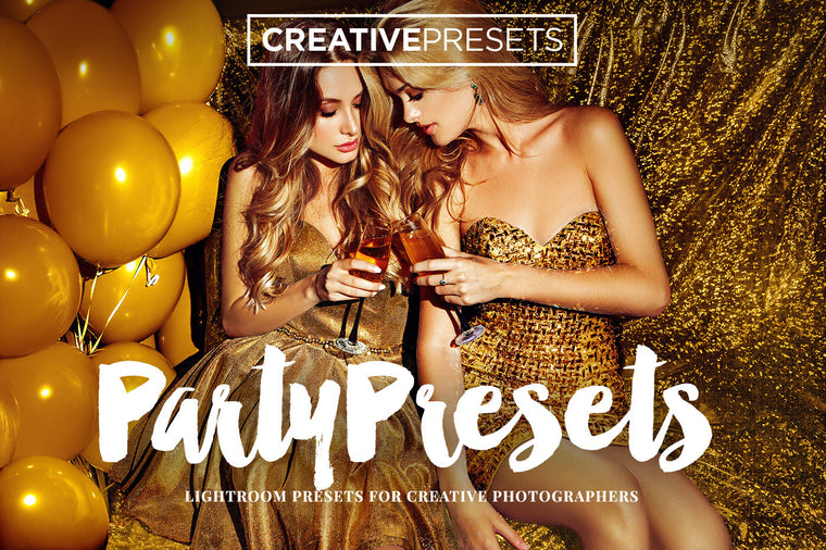 Party Lightroom presets - Lightroom Presets - CreativePresets.com