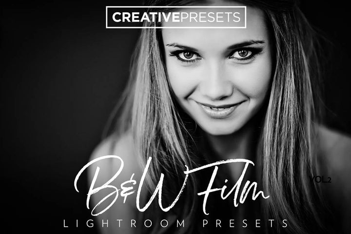 Vintage B&W Film Lightroom Presets - Lightroom Presets - CreativePresets.com