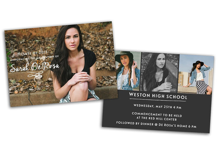 Senior Graduation Photoshop Template - Photoshop Templates - CreativePresets.com