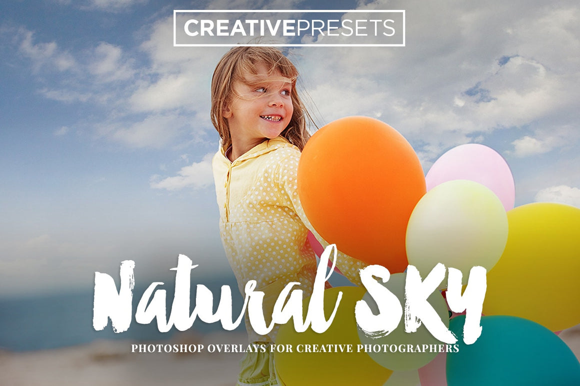 Natural Sky Overlays - Photoshop Overlays - CreativePresets.com