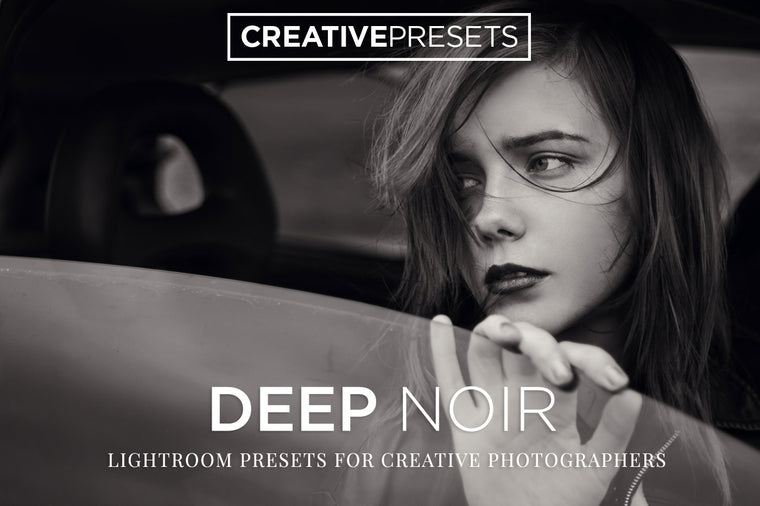 Deep Noir Lightroom Presets