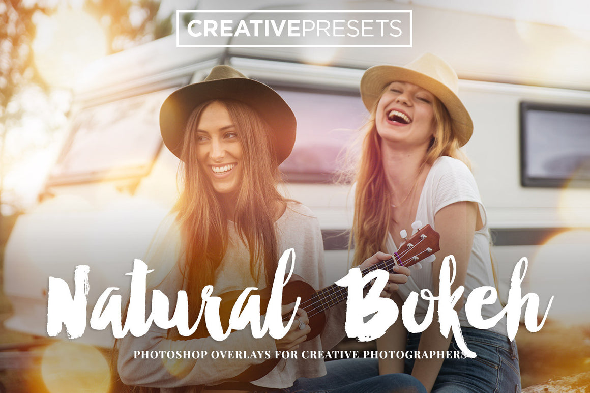 Natural Bokeh Overlays - Photoshop Overlays - CreativePresets.com