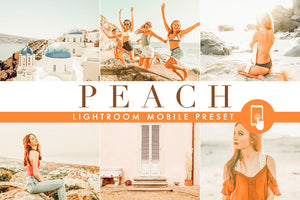 Peach - Lightroom Mobile preset - Lightroom Presets - CreativePresets.com