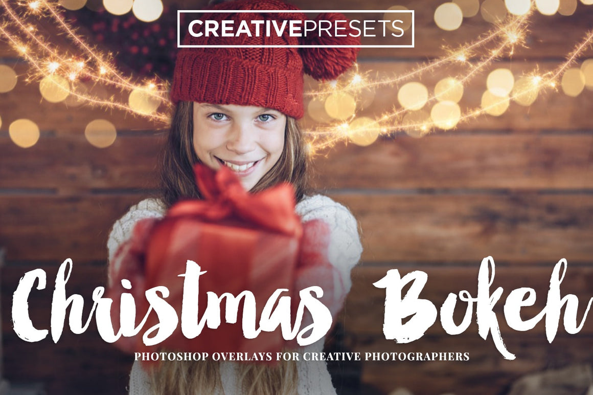 Christmas Bokeh Overlays - Photoshop Overlays - CreativePresets.com
