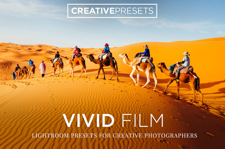 Vivid Film Lightroom Presets - Lightroom Presets - CreativePresets.com