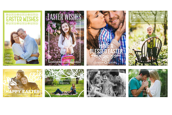 Easter Cards Bundle - Photoshop Templates - CreativePresets.com