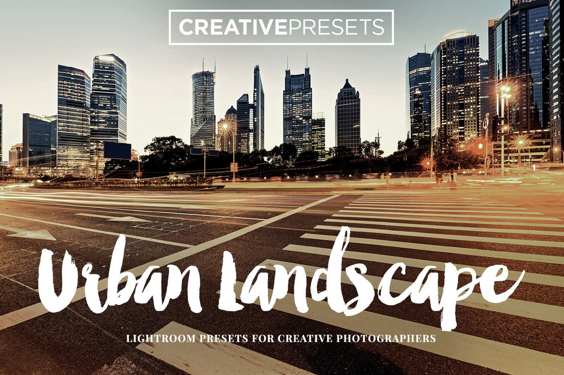 Urban Landscape Lightroom Presets - Lightroom Presets - CreativePresets.com