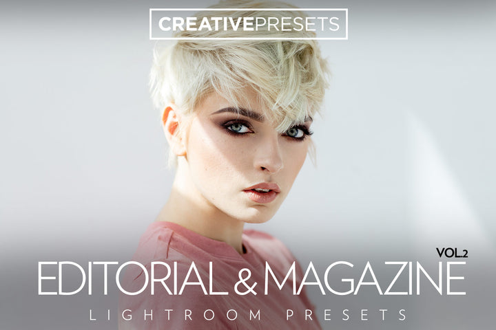 Editorial & Magazine Vol.2 - Lightroom Presets - Lightroom Presets - CreativePresets.com
