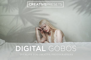Digital Gobos Overlays - Photoshop Overlays - CreativePresets.com