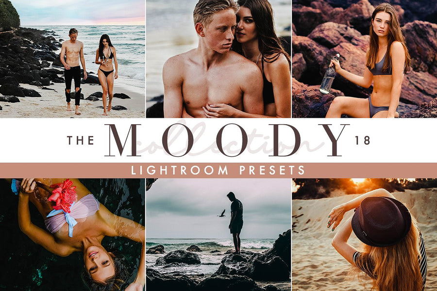 Moody Lightroom Presets - Lightroom Presets - CreativePresets.com