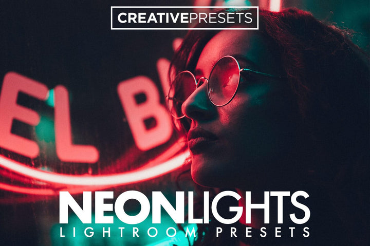 30 Neon Lights Lightroom Presets - Lightroom Presets - CreativePresets.com