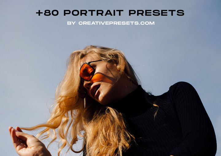 80 Lightroom Presets for Portraits