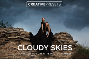 Cloudy Sky Overlays - Photoshop Overlays - CreativePresets.com