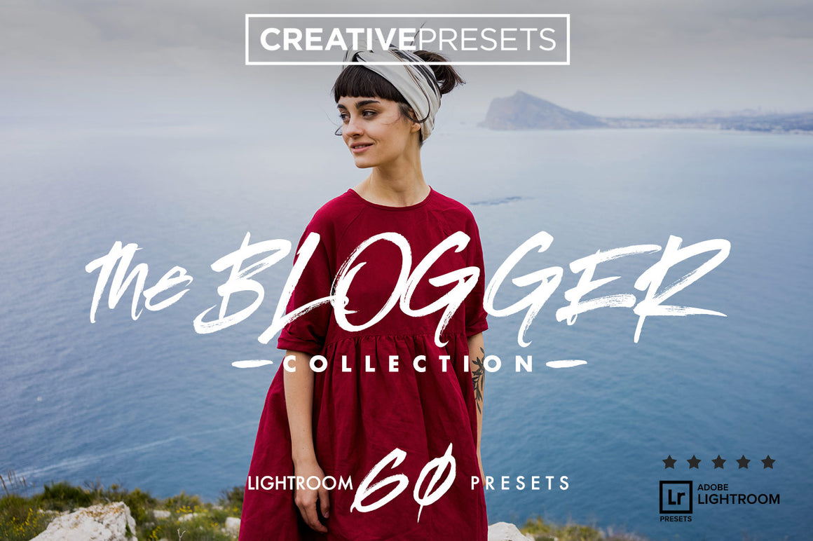 "60 ""The Blogger"" Lightroom Presets"