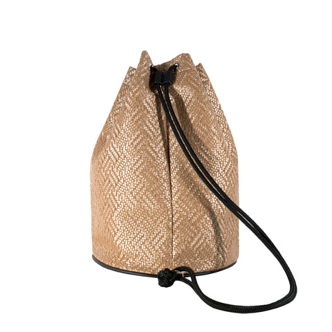 KNIT KNOT CIRCLE BAG - BOOPACKS