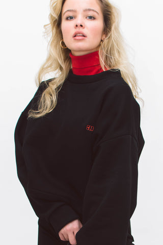 BOO TURTLENECK SWEATSHIRT