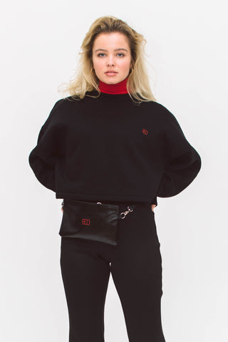FANNY PACK WITH RED LOGO