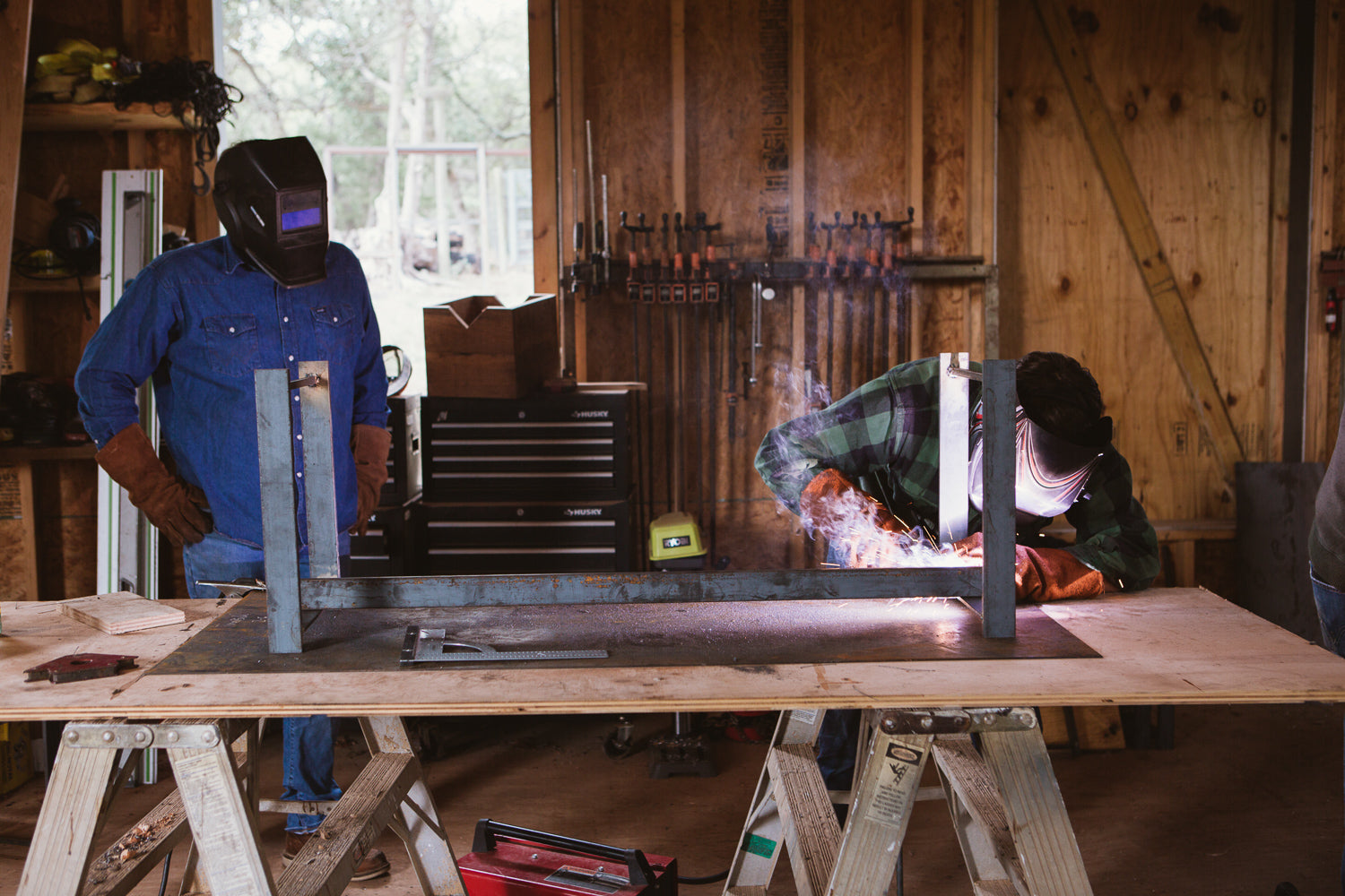 April 6 Welding Day Camp | Bench