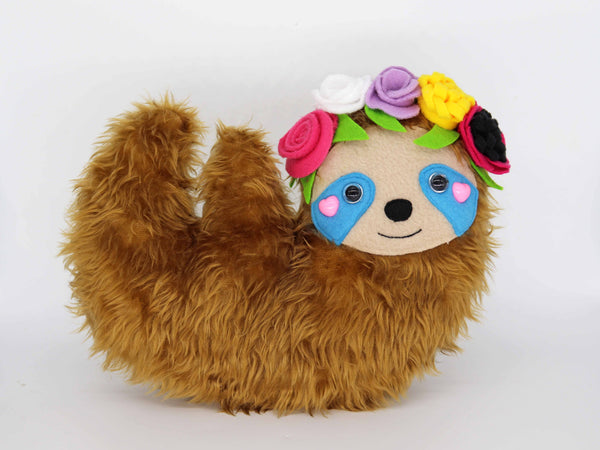 Festisloth plush toy - handmade to order