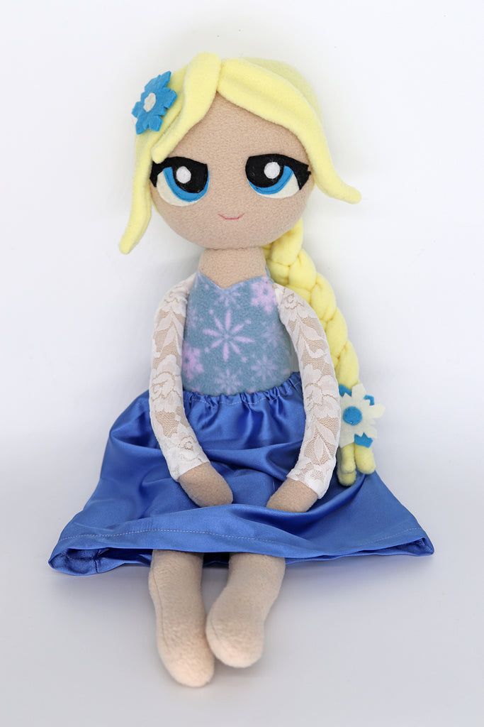 Winter Queen doll - handmade to order - pre-order it now!