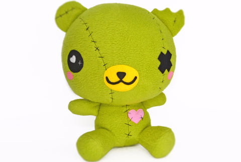 BIG ZomBear plushie , zombie bear kawaii plush toy