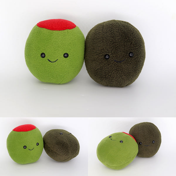 Olive plushies - handmade to order