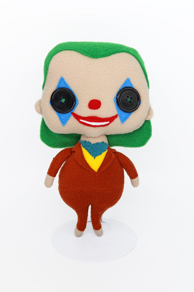 The Joker  plush doll - handmade to order