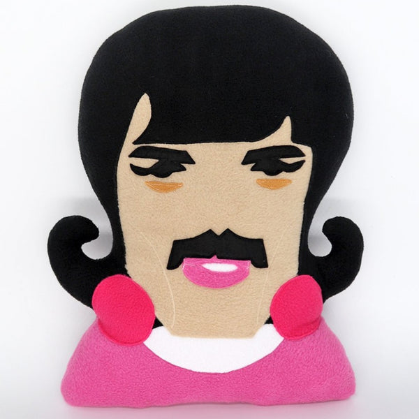 Freddie Mercury pillow - handmade to order