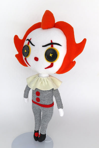 Pennywise plush doll - handmade to order