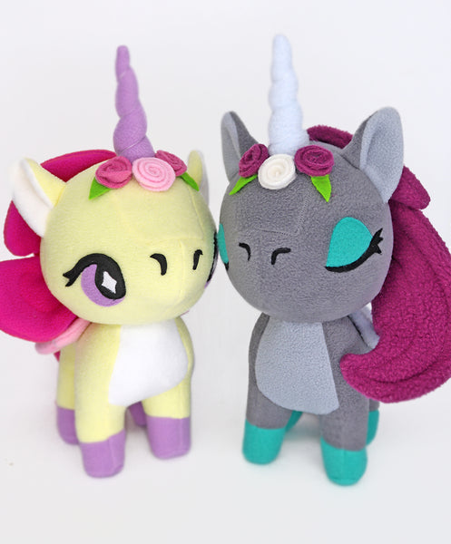 Unicorn plushie - handmade to order