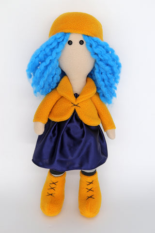 Coraline doll - handmade to order