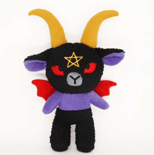 Baphomet plushie , kawaii soft toy