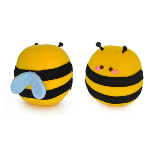 Honey bee handmade plushie