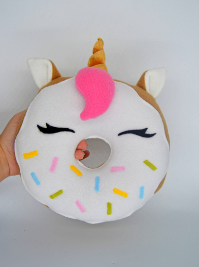 Doughnut unicorn kitty  plushie