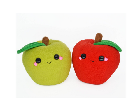 Apple kawaii novelty soft toy