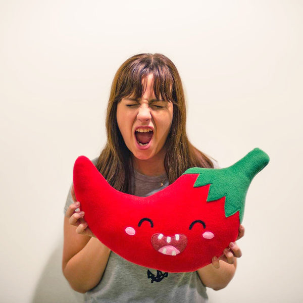 Red Hot Chili Pepper plushie / pillow
