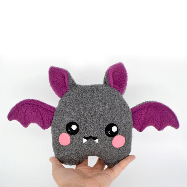 Bat plushie kawaii soft toy plush handmade vampire halloween cute scary