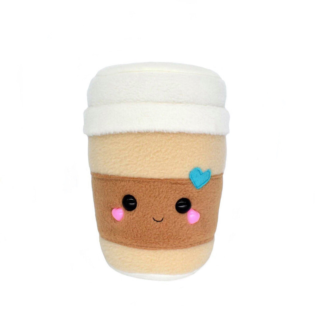Coffee Cup plushie , kawaii plush soft toy home decor novelty pillow