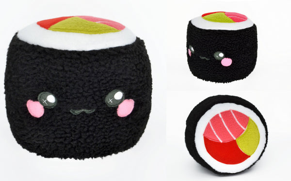 Sushi Roll plushie pillow cushion