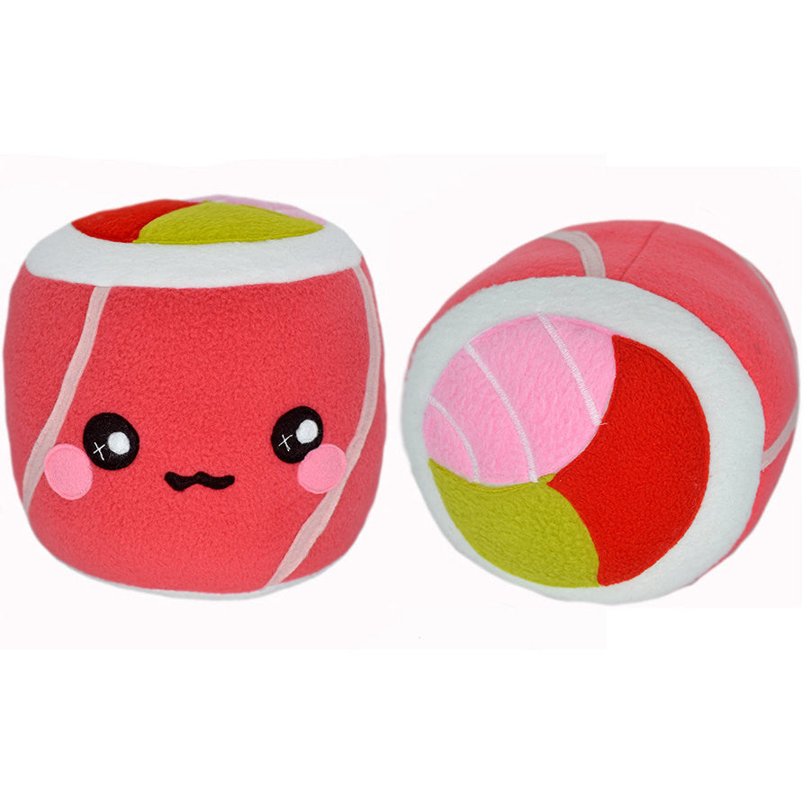 Sushi Roll - Salmon - plushie pillow cushion