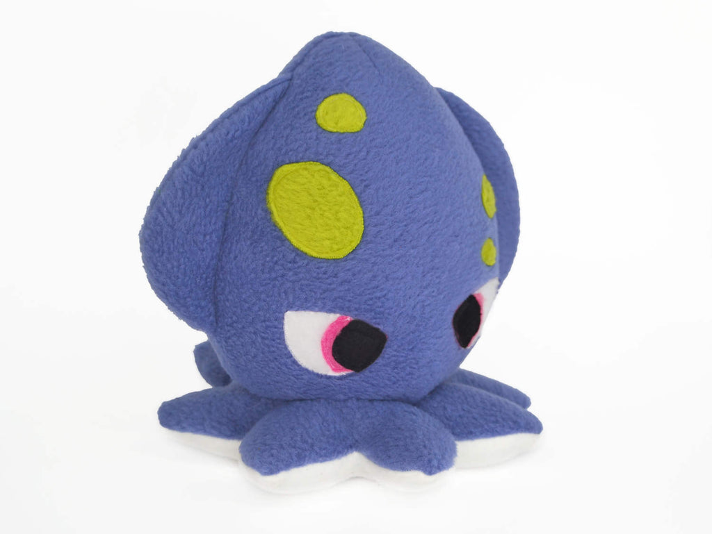 Kraken plush toy - squid handmade plushie