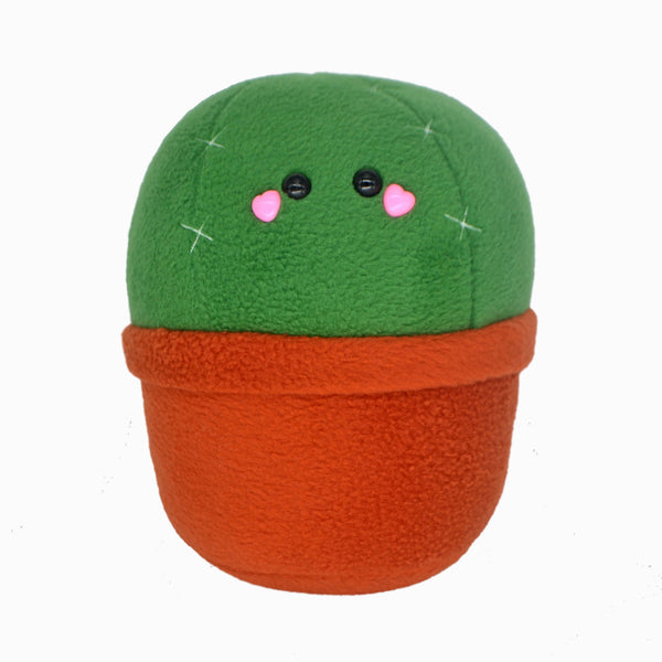 BIG Cactus plushie / kawaii cute pillow handmade cushion plant adorable soft and cuddly