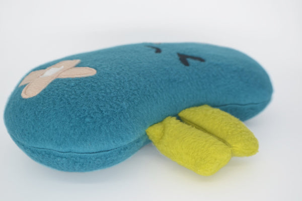 Angry kidney comfort pillow  - get well soon gift!