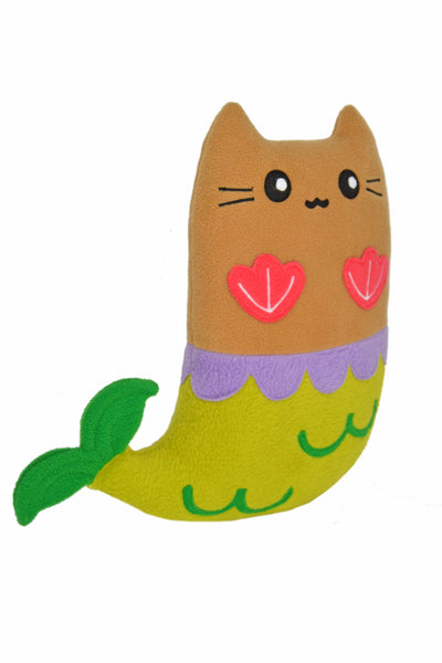 Purrmaid soft plush toy