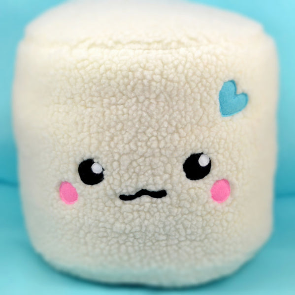 Huge Marshmallow pillow - cushion - cuddly soft toy
