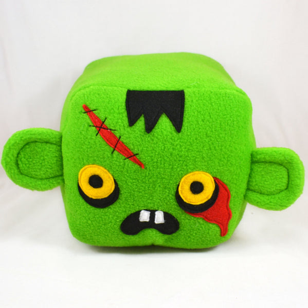 Zombie plush cube / pillow / cushion / plushie /plush toy