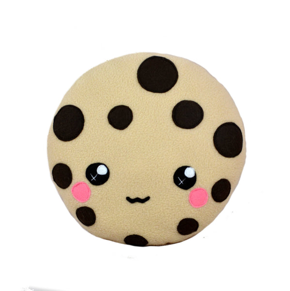 Kawaii cookie plush toy cushion cute chocolate chip cookie m&m cookie cartoon face cute pillow felt