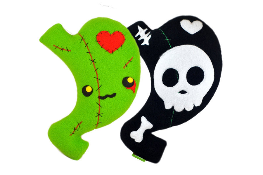 Zombie - Skull Bariatric comfort pillow - Gastric Sleeve , Gastric Bypass, Gastric Band