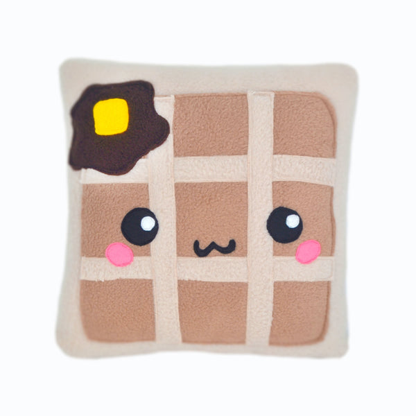 Waffle pillow cushion plushie kawaii stuffed toy