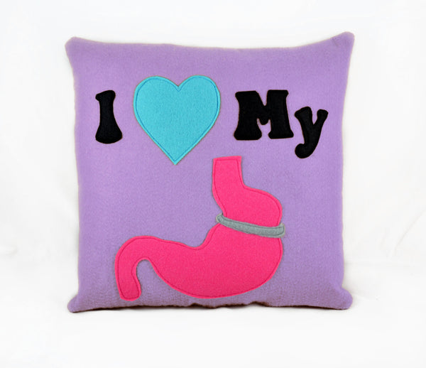 I Heart Pillow / Cushion gastric sleeve Gastric bypass Gastric band